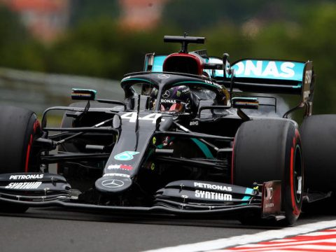 Lewis Hamilton secured his 93rd pole position in Belgium.